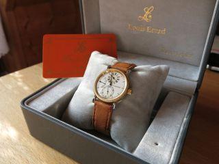 Louis Erard La Longue Regulator Mit Neuem Di - Modell Strauss Armband Bild