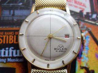 Buler Swiss Made 21 Jewels Antimagnetic Bild