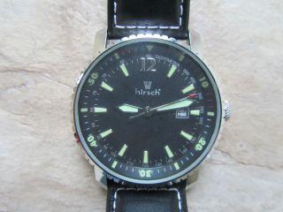 Hirsch Sky Pilotenuhr - Fliegeruhr Herren - Armbanduhr Bild