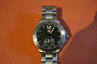 Luxus Pur: Tag Heuer Formula 1 Grand Date 42mm Wau1112.  Ba0858 9 Monate Alt Bild