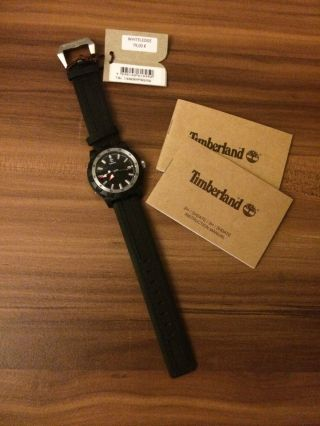 Timberland Whiteledge Herren Damen Unisex Armbanduhr Analog Quarz Tbl.  13323mpbs Bild