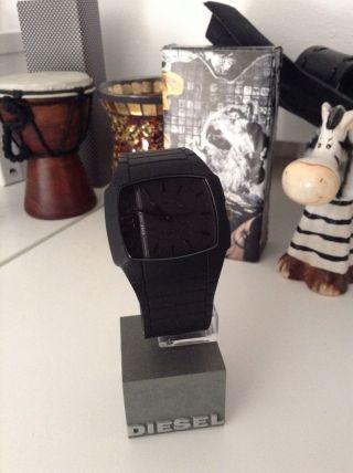 Diesel Unisex Black Schwarz Armbanduhr Uhr Watch Dz1384 Bild