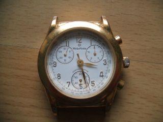 Nachlass Opas Sammlung Alte Wyler - Vetta Chronograph Tachymeter Herrenuhr Bild