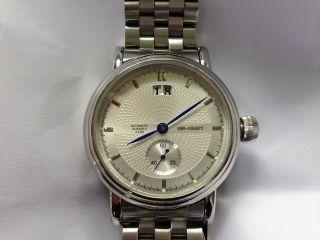 Uhr Kraft Uhr Automatic Herrenarmbanduhr Große Uhr 1:a : Np: 289€ 1:a Bild