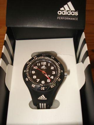 Armbanduhr Adidas Jungen Weihnachten Geschenk Schwarz Unbenutzt Bild