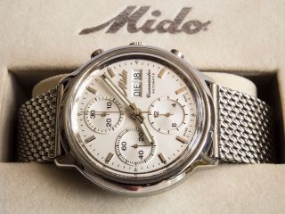 Mido Commander Ocean Star Automatik Herren Chronograph Ref.  8885 Bild