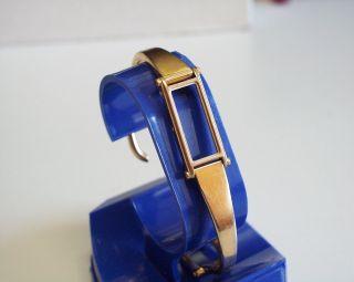 Zierliches - Gucci 1500 Damenuhr - Gehäuse,  Uhrband Aus Vergoldeten Edelstahl Bild