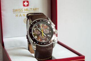 Swiss Military Hanowa Gents Chronograph 6 - 4046.  04.  005 Model Cervin Bild