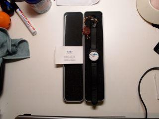 Wmc Esso Armbanduhr Voll Funktiontüchtig. Bild