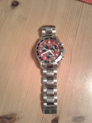 Herrenuhr Armbanduhr Victorinox Swiss Army 251148 Tachymeter Bild
