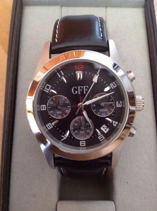 Gff Armbanduhr Chronograph Gianfranco Ferre Und Ovp Bild