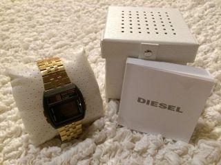 Diesel Dz7195 Digitale Herrenarmbanduhr Gold Bild