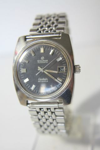 Golana Captain Swiss Automatic Herrenuhr Kal.  Eterna - Matic 12824 Bild