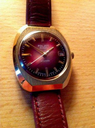 Armbanduhr Poljot Automatikuhr Hau Herrenarmbanduhr - Bitte Ansehen Bild