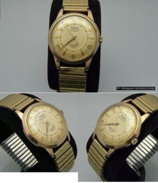 Vintage Rado Automaticuhr Herren Armbanduhr Kaliber As 1361n Bild