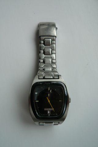 Diesel Uhr - Dz - 1067 Armbanduhr Silber Edelstahl Bild