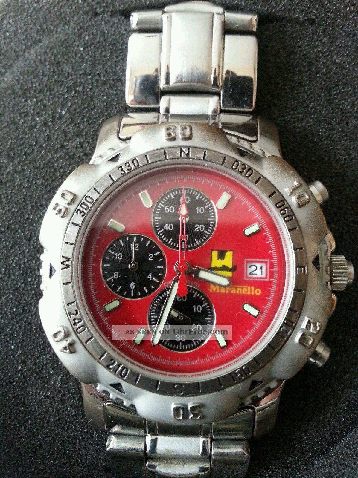 Ferrari Maranello Uhr Sehr Schik Armbanduhren Bild