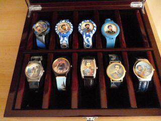Armbanduhren Sammlung Von 9 Xkönig Ludwig Davon 4xtymer Handmade Germany Bild