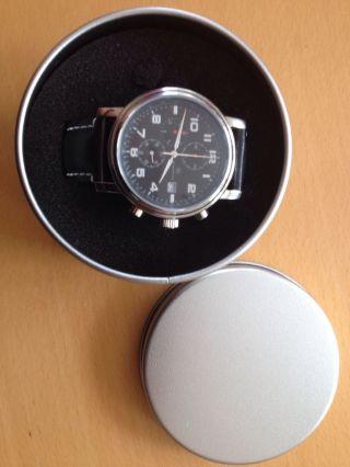 Armbanduhr Cronograph Uhr Pwc Elegant Bild