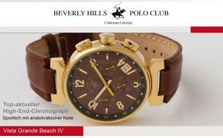 Beverly Hills Polo Club Uhr Uvp 399€ Neu&ovp Mit Rechnung, Bild