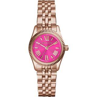 Michael Kors Mk3285 Damenuhr Rosegold Armbanduhr Pink Small Bild