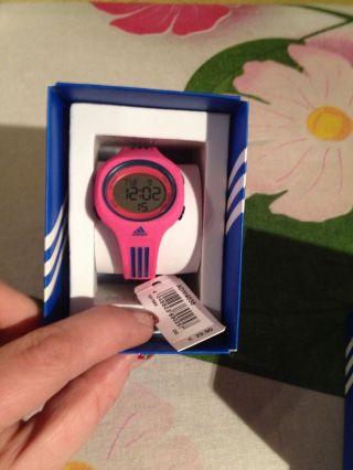Adidas Kinderuhr,  Armbanduhr,  Pink,  Ovp Bild