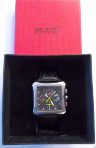 Ausgefallene Uhr Kraft Armbanduhr Chronograph 10483/2 Uhr Farbig Bild
