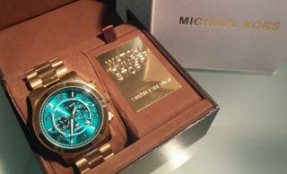 Michael Kors Mk8315 Watch Hunger Stop Damen Uhr Uvp 299,  00 Bild