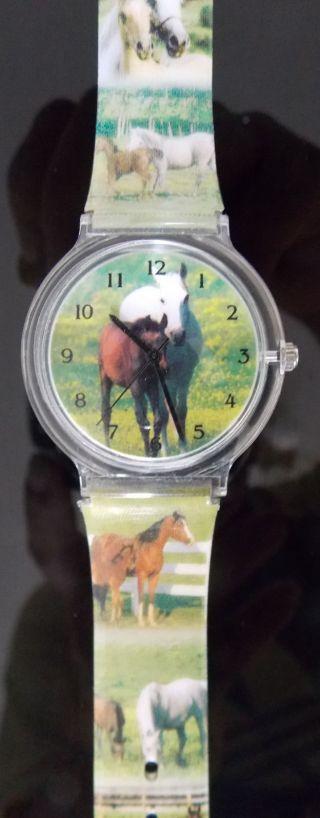 Kinderuhr Armbanduhr Pferde - Motive Bild