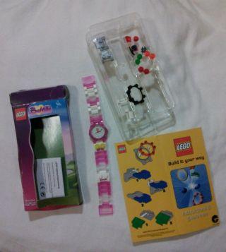Lego Belville Armbanduhr Armband Uhr Kinderuhr Mädchenuhr Spielzeug Pink Rosa Bild