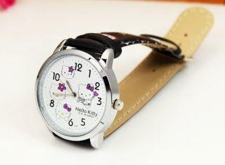 Hello Kitty Armbanduhr Für Mädchen Girls Rosa Bild