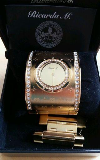 Wunderschöne Ricarda M Uhr Armspange Bild