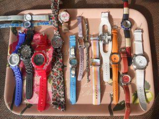 Konvolut Armbanduhren 16 Stück,  Sammlung,  Bastler,  Calypso,  Tommy Hilfiger,  Kbk,  U.  A. Bild