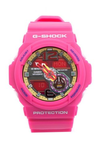 G - Shock Casio Ga - 310 - 4aer Armbanduhr,  Pink/red/yellow_910623 Bild