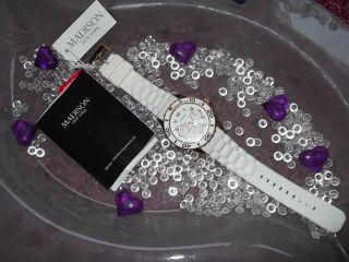 / Madison Damen Armbanduhr