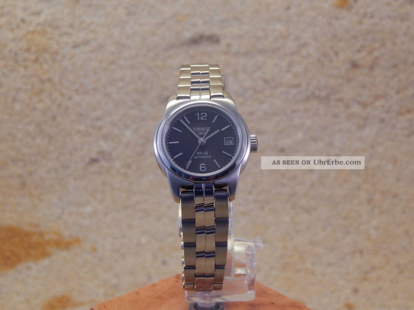 Tissot Damen - Armbanduhr Automatik Pr 50 T34.  1.  283.  52 W38 Armbanduhren Bild