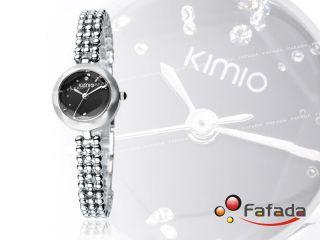 Kimio Damenuhr Quarzuhr Armbanduhr Quarzarmbanduhr Damen Uhr Fashion Silber Bild