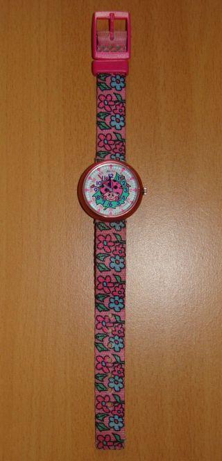 Flik Flak Uhr Armbanduhr Kinderuhr Kinderarmbanduhr Kinder Marienkäfer Pink Top Bild