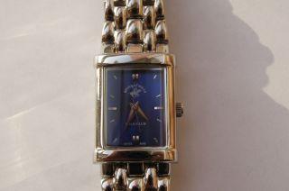Beverly Hills Polo Club Damenuhr Uhr Elegance Silber Blau Bild