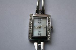 Meister Anker Damenuhr Uhr Glamour Mit Mit Strass Silber Bild