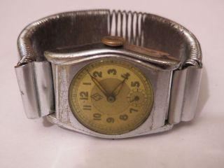 Sammler Uralte Zentra Tonneau Uhr,  Eine Der Allerersten 30er Jahre Handaufzug Bild