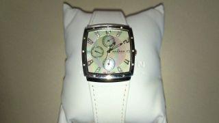 Skagen Uhr Weiß Mit Zirkonias,  Neuwertig Bild