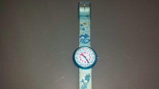 Flik Flak Armbanduhr Meerjungfrau,  Uhr Mädchen Glitzer Bild