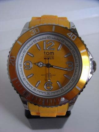 Tomwatch Basic 40 Wa 0148 Neon Orange Uvp 49,  90€ Bild