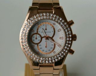 Modische,  Stylische Armbanduhr Im Chrono - Look Bild