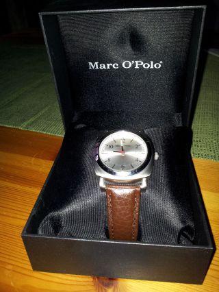 Marc O`polo Damenarmbanduhr,  Leder,  Braun Bild