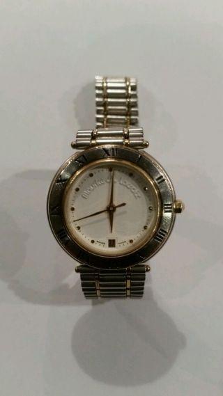 Maurice Lacroix Calypso Damen Uhr Vergoldet 25mm Bild