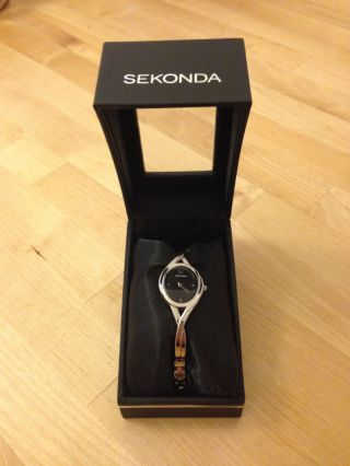 Armbanduhr Sekonda Damen Mädchen Mit Schmuck Box / Etui (originalverpackung) Bild