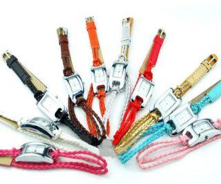 Modische Gute Charmante Bunte Quarz - Armbanduhr 13 Farben Für Damen Mädchen Bild