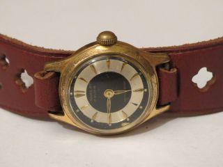 Bildschöne Antik Damenuhr Anker 50er Jahre Handaufzug Weihnachten Sammler Selten Bild